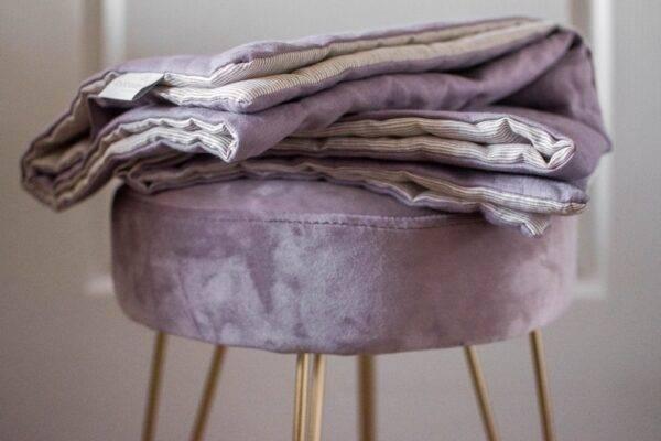 Linen bedspreads lavender