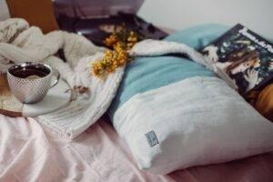 poduszka dekoracyjna ecru